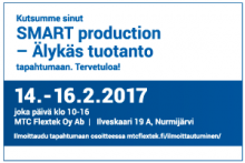 SMART production tapahtuma 14.-16.2.2017